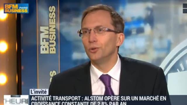 Henri Poupart-Lafarge est le nouveau PDG du groupe industriel.