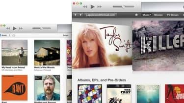 iTunes est en perte de vitesse