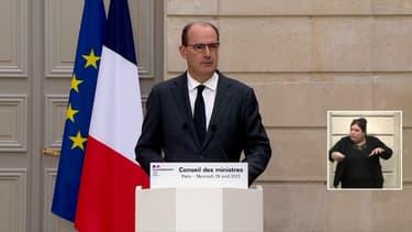 Jean Castex, le 28 avril 2021.