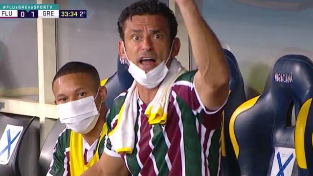 Fred pendant Fluminense-Grêmio