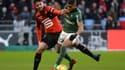 Grenier (Rennes) et Monnet-Paquet (ASSE)