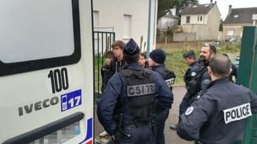 Lycéens interpellés à Mantes-la-Jolie.