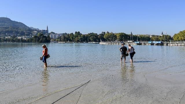 Annecy va se servir de l'eau de son lac