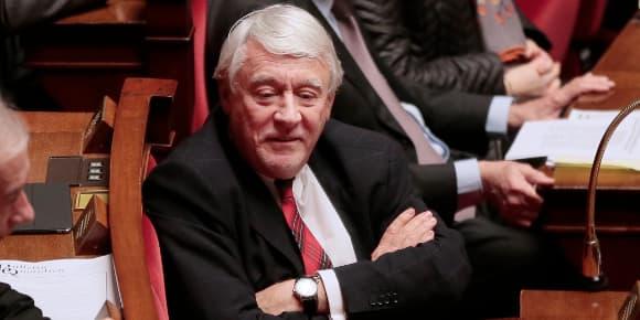 Le député UMP Claude Goasguen à l'Assemblée, le 25 février 2014