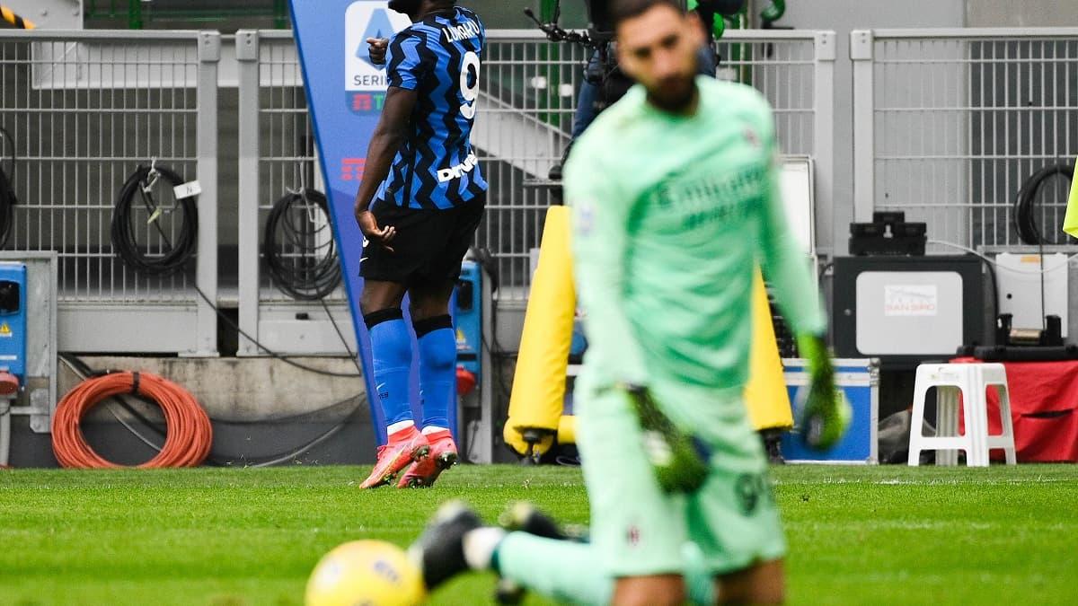 Inter-AC Milan: la phrase rageuse de Lukaku à Zlatan après le troisième but - RMC Sport