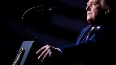 Donald Trump lors d'un meeting à Bemidji dans le Minnesota le 19 septembre 2020.