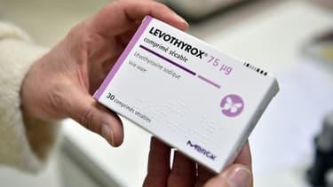 Des comprimés de Levothyrox en vente dans une pharmacie de Saint-Gaudens en décembre 2017