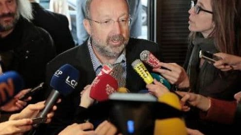Joseph Thouvenel était au siège du Medef à Paris le 5 mars 2014.
