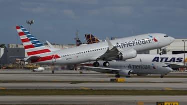 Un Boeing 737 MAX de American Airlines (illustration)