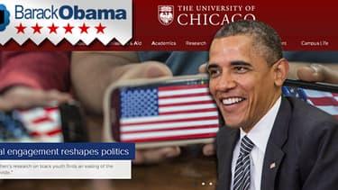 Barack Obama est entré comme enseignant à l'université de Chicago.