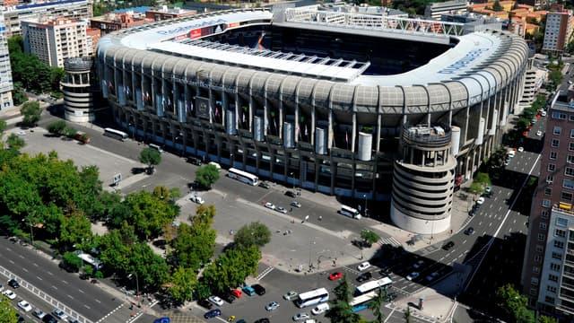Stade Santiago Bernabeu.