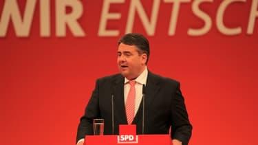 Sigmar Gabriel, président du parti social-démocrate, est le futur ministre de l'Economie et de l'Energie.