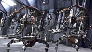 Capture d'écran de l'épisode 1 de la saga Star Wars