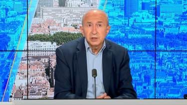 Gérard Collomb sur le plateau de BFMTV le 27 octobre 2021.