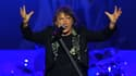 Le chanteur d'Iron Maiden, Bruce Dickinson, le 2 octobre 2013 au Chili.