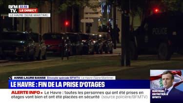 Le Havre: les six otages ne sont pas blessés physiquement