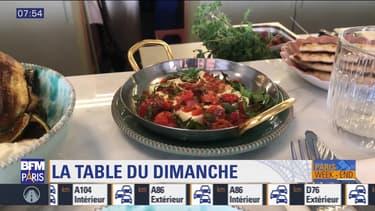 La table du dimanche: Le Grand Café d'Athènes, rue du Faubourg Saint-Denis au 10ème arrondisssement
