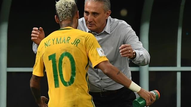 Neymar et Tite