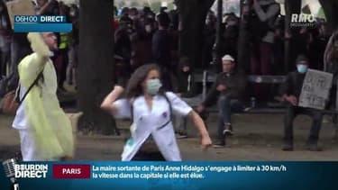 L'infirmière interpellée à Paris a déposé plainte.
