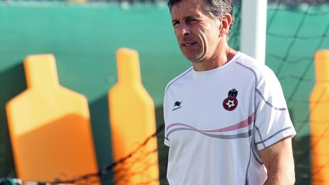 Claude Puel, actuel coach de Nice, en guerre contre l'OL