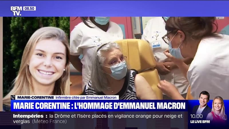 Citée par Emmanuel Macron dans ses vœux, cette infirmière