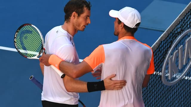 Andy Murray et Mischa Zverev