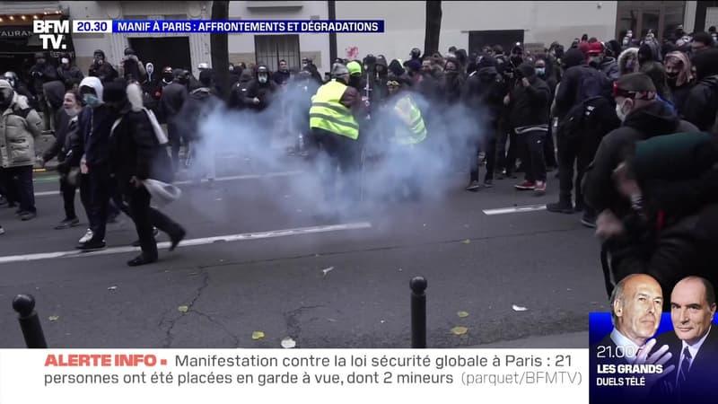 Manif à Paris : affrontements et dégradations - 05/12