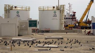 Le site de Qatar Petroleum à Rass Laffan est l'un des plus importants sites de production de GNL du pays.