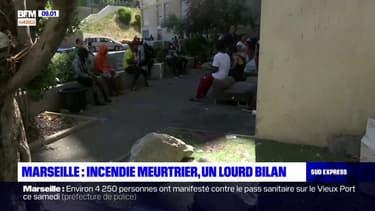 Incendie à Marseille: trois morts et plusieurs blessés graves