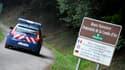 La route près de laquelle ont été découvertes les victimes de la tuerie de Chevaline, le 5 septembre 2012