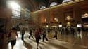 L'activité a repris progressivement lundi à New York, comme ici à la Grand Central Station, après le passage dans le week-end de la tempête Irene. Plus au nord, le Vermont connaît ses pires inondations depuis 1927. Irene a fait au moins 38 morts aux Etats
