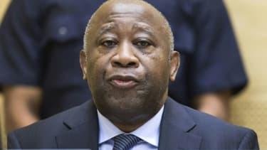 Laurent Gbagbo le 19 février 2013 à la CPI à La Haye