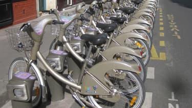 A l'occasion de la COP21, les Parisiens pourront tester des Vélib' à assistance électrique. (image d'illustration)