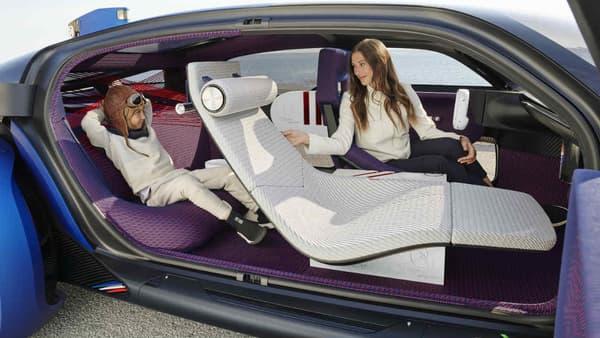 Le 19_19 Concept est une voiture autonome.