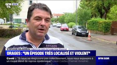 """Intempéries dans l'Essonne: l'adjoint au maire de Longjumeau parle d'un """"épisode très localisé et très violent"""""""