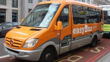 EasyBus, qui effectue déjà des liaisons entre les aéroports londoniens et la capitale britannique.