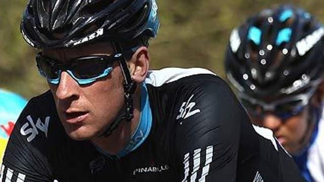 Bradley Wiggins, leader provisoire du Critérium du Dauphiné