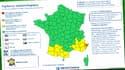 """Le département des Alpes-Maritimes était le seul placé ce mercredi matin en vigilance orange """"orages"""" et """"pluie-inondations""""."""