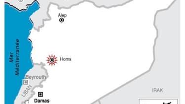 LA VILLE SYRIENNE DE HOMS À NOUVEAU BOMBARDÉE
