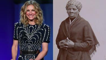 Julia Roberts et Harriet Tubman