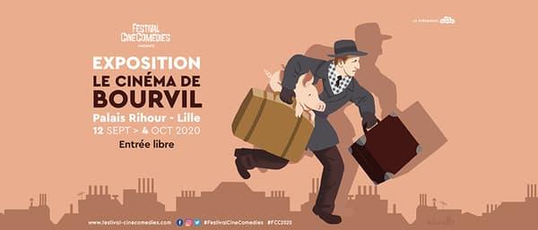 Affiche de l'exposition Le Cinéma de Bourvil