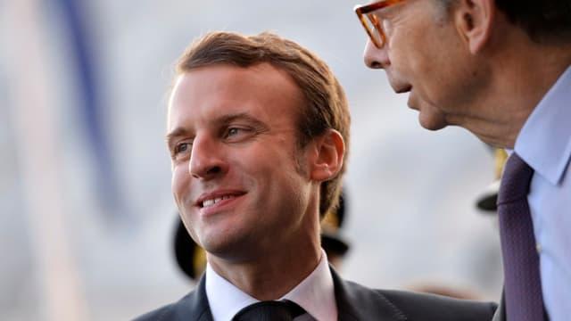 """Emmanuel Macron a jugé que la privatisation des autoroutes avait été """"une mauvaise affaire pour l'Etat""""."""