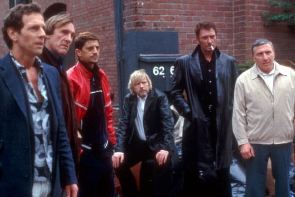 """Renaud et Johnny Hallyday avaient tourné ensemble dans """"Wanted"""" en 2003"""