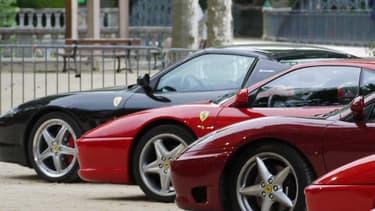 Un peu plus de quatre ans, c'est le temps de détention moyen d'une Ferrari avant qu'elle ne change de propriétaire.