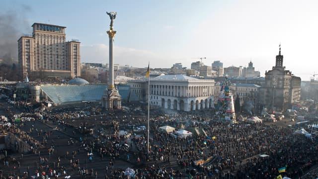 Il y a un an débutait les événements de Maïdan, place de l'Indépendance à Kiev, qui allaient plongé l'Ukraine dans une grave crise diplomatique avec la Russie.