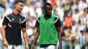 Cristiano Ronaldo et Blaise Matuidi
