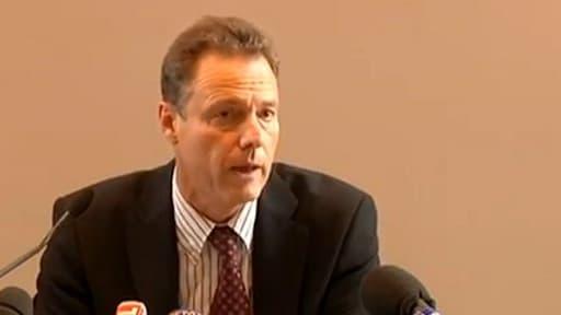 Le procureur Eric Maillaud, lors d'une conférence de presse en septembre dernier.