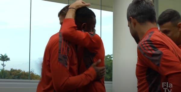 Les adieux émouvants de Gerson à ses partenaires de Flamengo