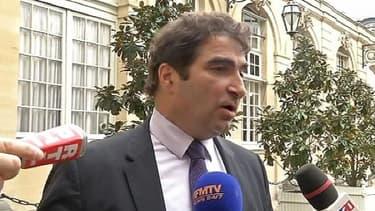 Christian Jacob, reçu jeudi à Matignon, pour discuter moralisation de la politique avec Jean-Marc Ayrault.