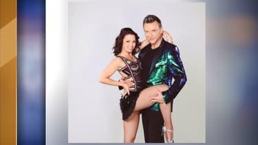 Marie Denigot et Jeanfi Janssens, son partenaire dans la saison 9